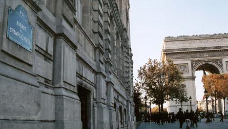 Đại lộ Champs Élysées và Khải Hoàn Môn