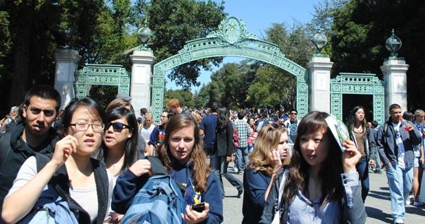 Đại học Berkeley ở miền bắc California có trên 30 nghìn sinh viên